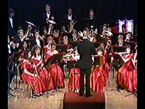 North Central Symphonic Wind Ensemble 1990 ISSMA Indiana State Finals