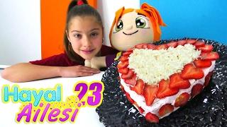 Hayal Ailesi. Sevgililer günü pastası