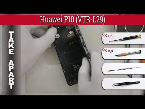 How to disassemble 📱 Huawei P10 (VTR-L29) Take apart Tutorial