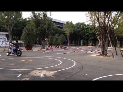 Tinhte.vn - Chạy sa hình thi bằng lái A2
