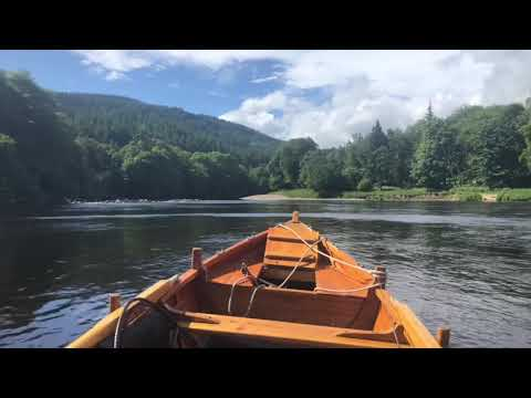 Salmon Fishing On The Dunkeld House Beat