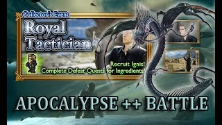 [FFRK] FFXV Royal Tactician | Ignis - By Duties Bound (A++) #1052