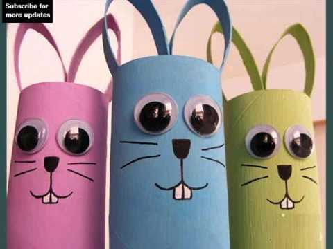 Toilet Paper Roll Crafts Craft Ideas Collection Youtube