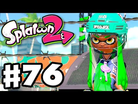 Splatoon 2 - Gameplay Walkthrough Part 76 - Custom Splattershot Jr. Tower Control! (Nintendo Switch)