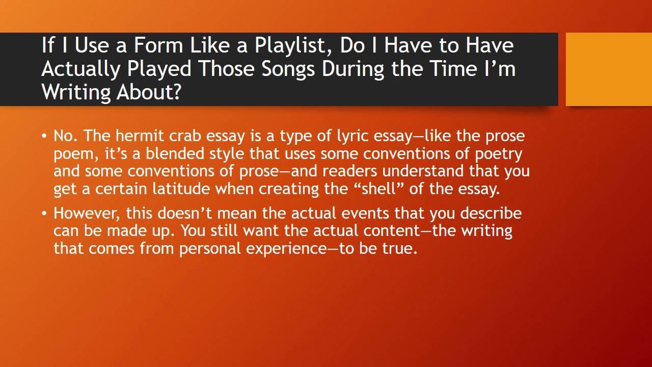 crabbe essay