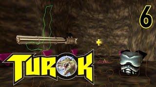 turok dinosaur hunter remaster hd pc 006 level 2 die minigun   deutsch 1080p60 2160p60
