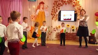 "Музично-ритмічна вправа ""Гра з тарілочками"" (старша група)"