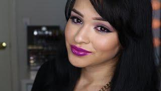 maquillaje para otoño+ como aplicar pestañas y Delineador.. Thumbnail
