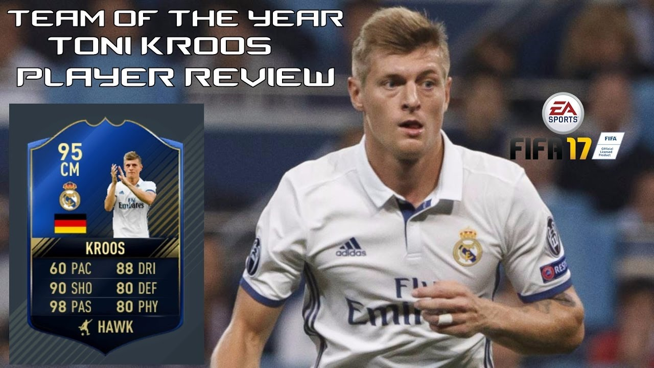 FIFA 17 Ultimate Team TOT TONI KROOS IS THE BEST ...