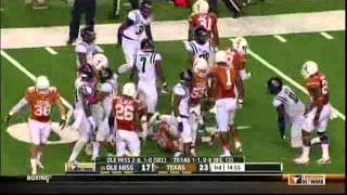 #25 Ole Miss vs Texas 2013