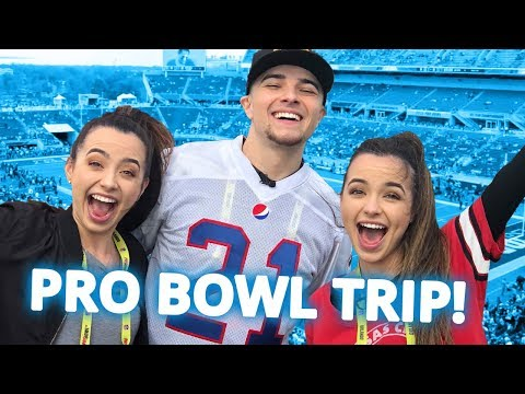 The Merrell Twins & Mikey Bolts Pro Bowl Trip - In the NFL