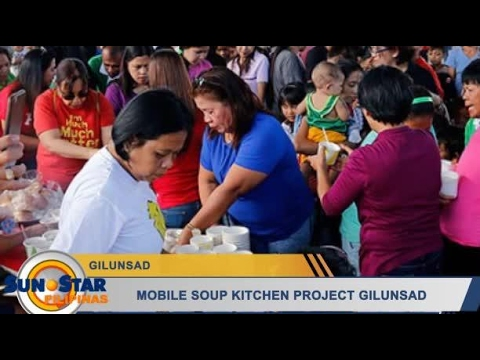 Mobile Soup Kitchen Project gilunsad
