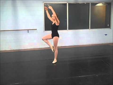 Ryann Roberts - Dance Audition Piece.wmv