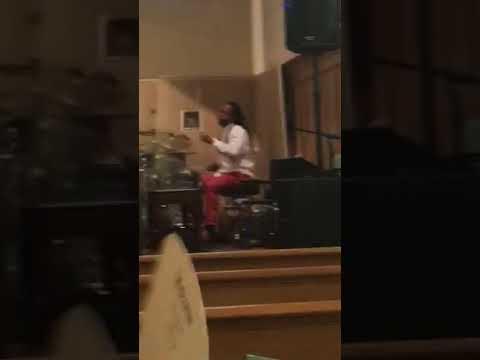 Gospel drummer