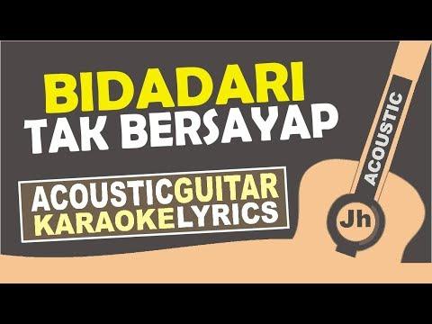 Anji - Bidadari Tak Bersayap (Karaoke Acoustic)