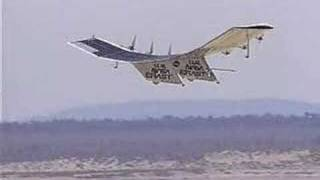 Pathfinder aircraft in flight