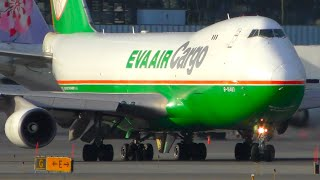 10 VERY LOUD Takeoffs from UP CLOSE | Anchorage Airport Plane Spotting