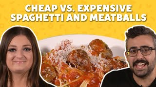 Can We Guess Which Spaghetti and Meatballs Plate Is Most Expensive? | TASTE TEST