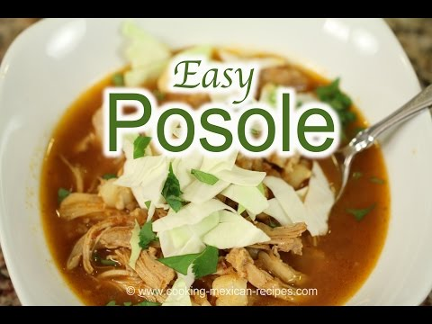 Quick Posole Chicken Pozole Recipe
