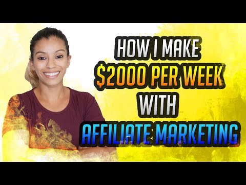 How I Make $2000 Per Week With Affiliate Marketing – Proven Funnel Strategy