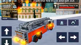 Fire Truck Driving Simulator | Android Gameplay | Droidnation