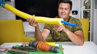 Плавающие мотовило для якоря - своими руками! Kayak Anchor Line Storage - 5 minute craft