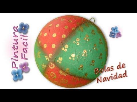 Adornos de navidad 2015 esferas navide as painting - Esferas de navidad ...