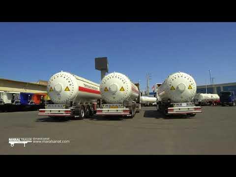 LPG tanker Semi Trailer Maral Trailer Co