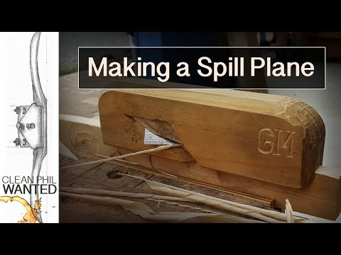 How To Make A Wooden Spill Plane With Hand Tools | A Wooden Hand Plane For My Friend