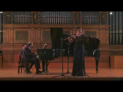 W.A. Mozart, Sonata in e minor K304 | Ginevra Petrucci, flute - Boris Berman, piano