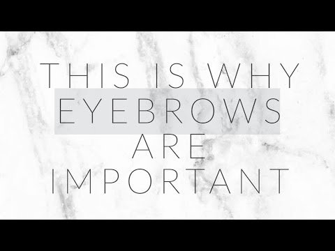 Why eyebrows are important?