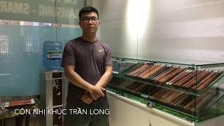 Côn nhị khúc Gỗ Cẩm Lai Việt Nam - Siêu phẩm nhà Trần Long