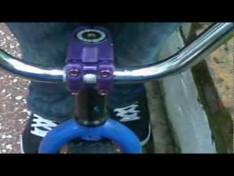 How To Install Bmx Stem And Handlebars Youtube
