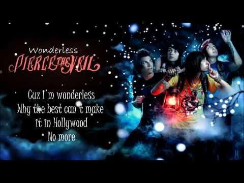 Pierce The Veil - Wonderless [Lyrics]
