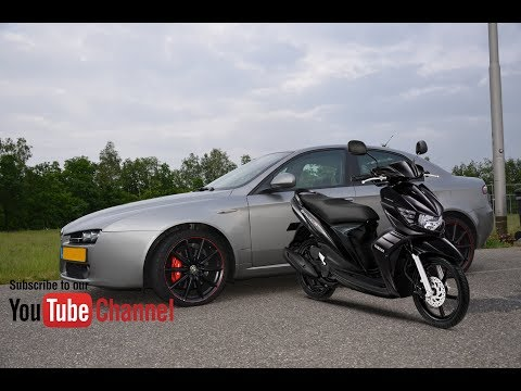 Alfa Romeo Q4 driving to Den Dolder, Laage Vuursche, Soestdijk 04-07-2017