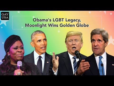 Gay USA: Obama's LGBT Legacy, Moonlight Wins Golden Globe