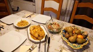 عشاق الدجاج أين أنتم 😜؟ مساء معي مع وجبة عشاء لذيذة جدا جدا / اقضو معي هذا المساء