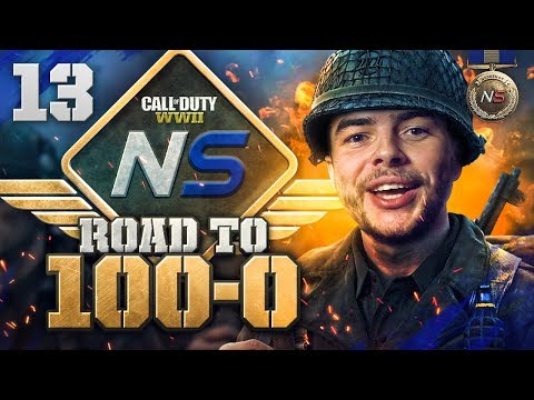 Road to 100-0! - Ep. 13 - THE GAME IS GLITCHED? (Call of Duty:WW2 Gamebattles)
