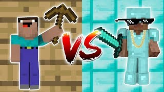 Minecraft - NOOB VS. PRO Episode 1