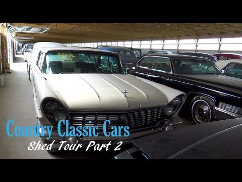 New Shed Tour - Country Classic Cars - Part 2