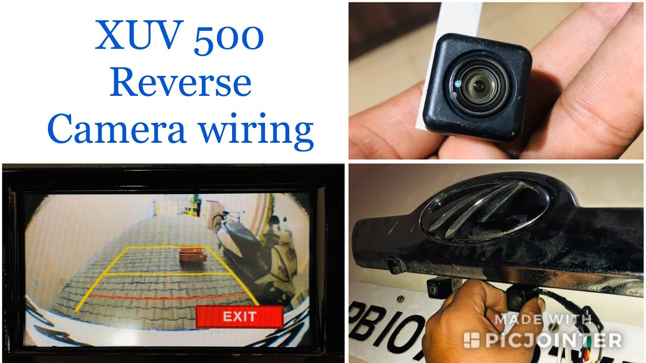 small resolution of xuv 5oo tailgate rear view camera wiring