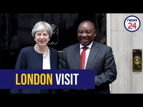 WATCH: Cyril Ramaphosa meets with UK PM Theresa May