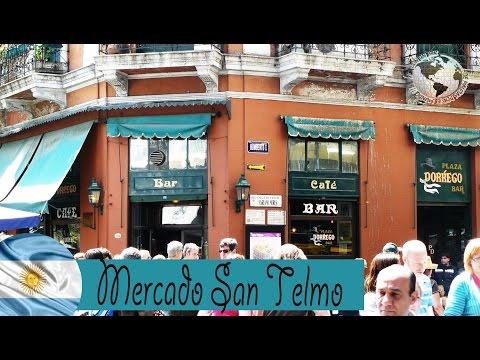 Domingo por Mercado de San Telmo - Sunday San Telmo Market, Buenos Aires. Argentina 09