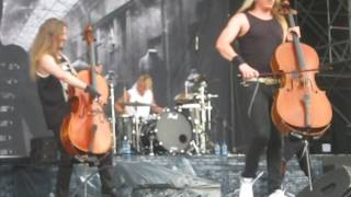 Apocalyptica - Grace - RocK In ROMA 2016