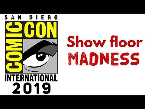 San Diego Comic Con 2019 Show Floor Exhibit Walkthrough
