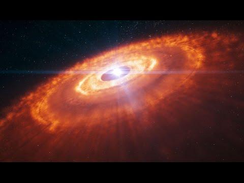 Hubble teleskop zeigt entstehung von sternen schwarze löcher