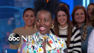 'GMA' Hot List: Lupita Nyong'o describes scaring a fan