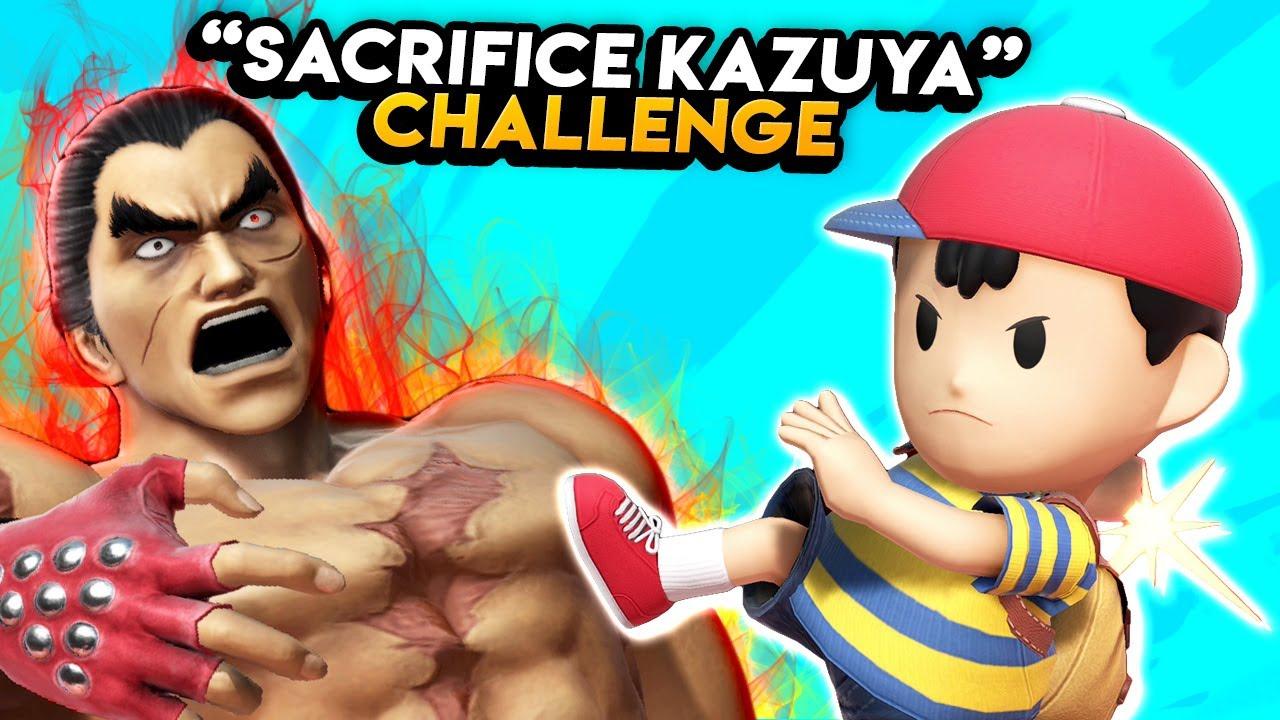 Who can sacrifice Kazuya? | Super Smash Bros. Ultimate