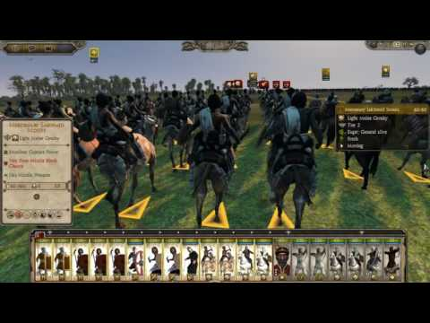 Total war Attila :Rise of the Aksum kingdom ! #The battle against the lakhmids king