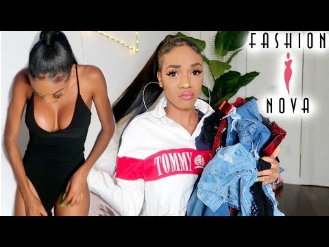 SPILLING THE TEA ON FASHION NOVA!!! (MY FIRST IMPRESSIONS & HONEST REVIEW). http://bit.ly/2GPkyb3
